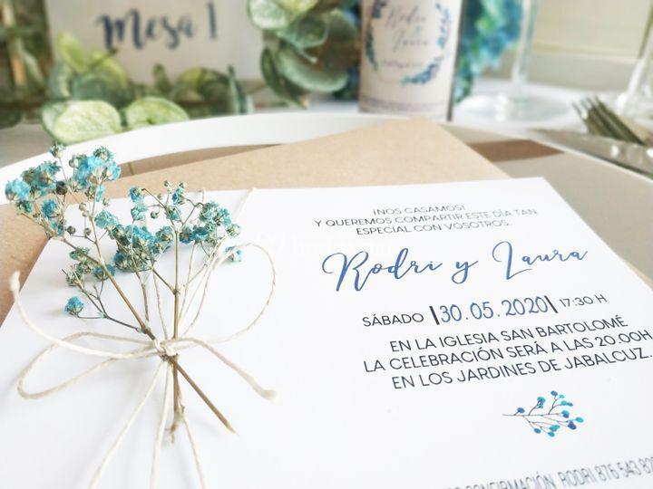 Invitación boda 20020