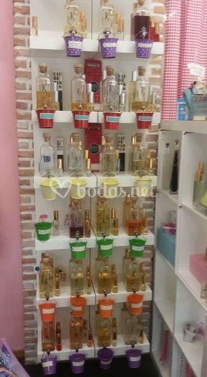 Elegantes perfumes
