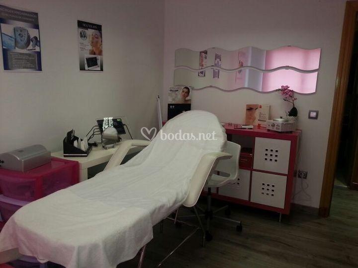 Sala de tratamientos faciales