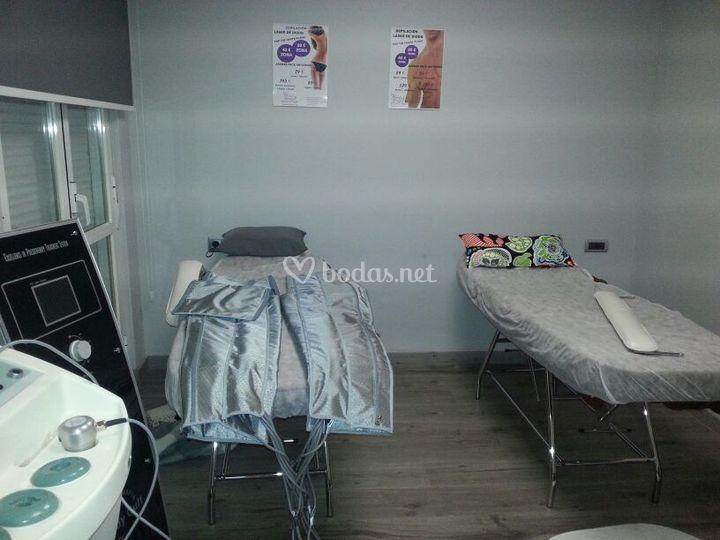 Sala de tratamientos corporale