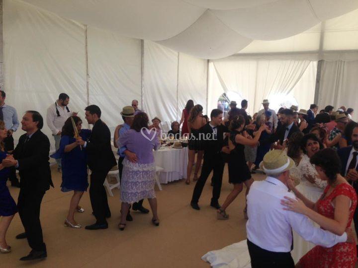 Baile boda disco devesa