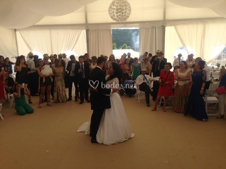 Vals de boda disco devesa