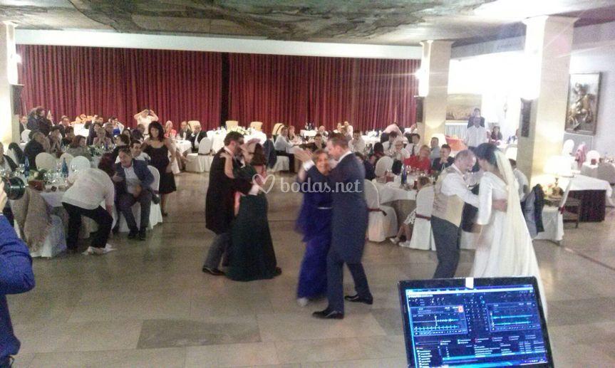 Baile boda -disco devesa-