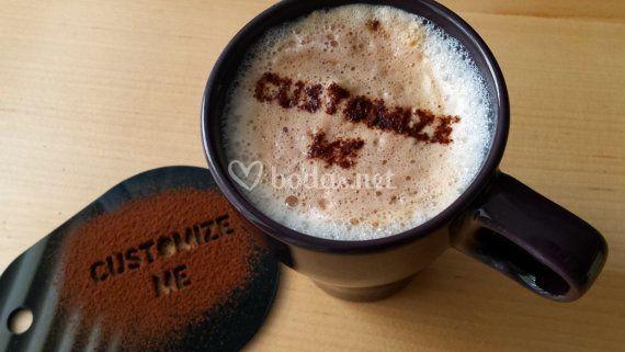 Plantillas de café personalizada