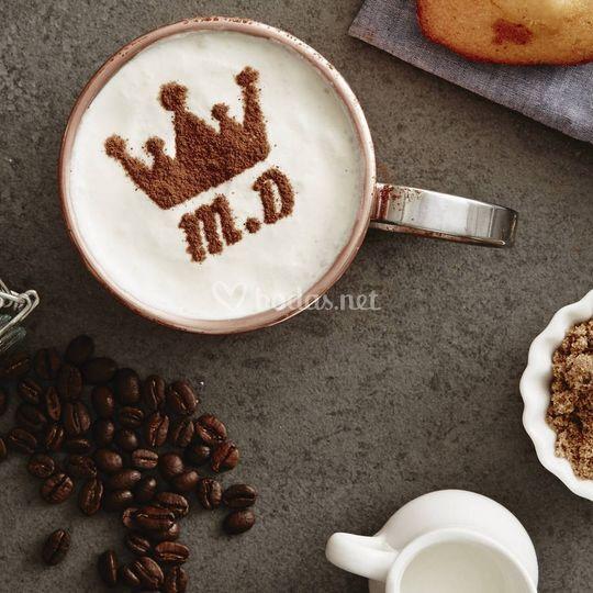 Plantillas de café personaliza