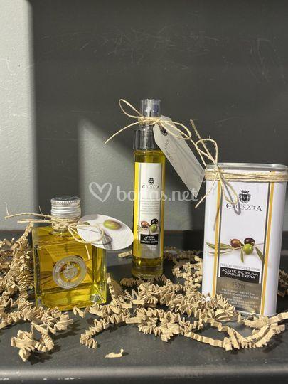 Aceites de oliva virgen