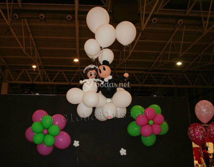 Decoracion Con Globos Para Bodas De Globoilusion Foto 2 - Adornos-con-globos-para-bodas