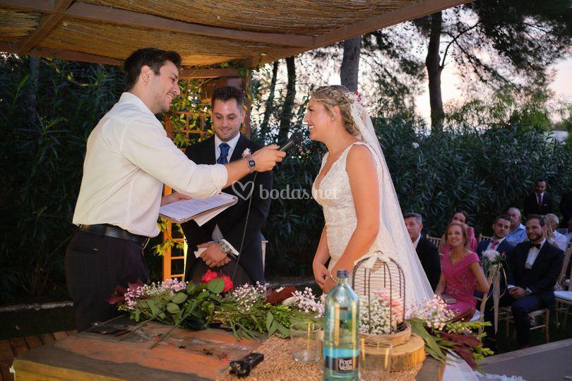 Ceremonia Noelia y Ricardo
