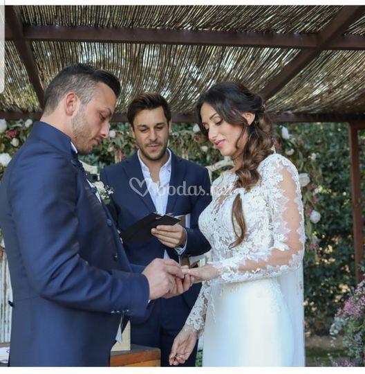 Ceremonia Miriam y Aithor