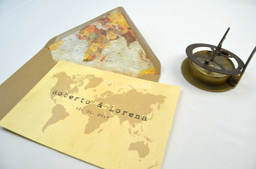 Invitación Viajera