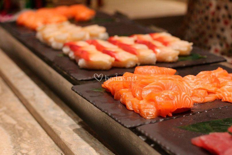 Corners de sushi