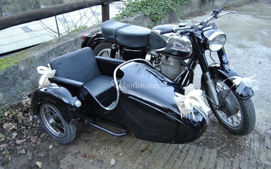 Moto Sanglas Sidecar