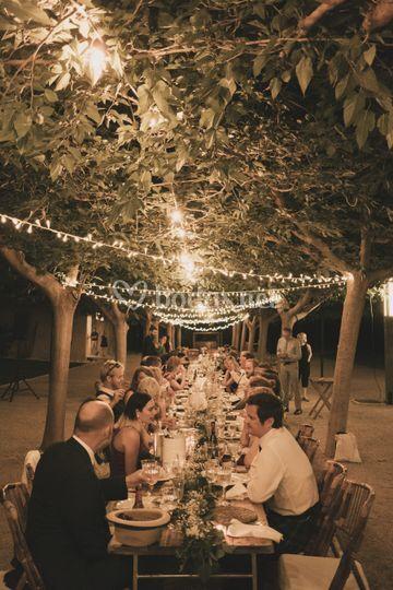 Banquetes de exterior