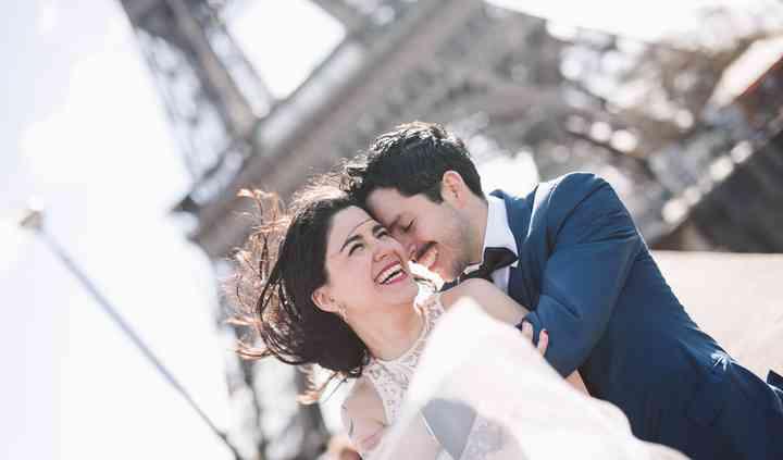 Foto de boda en Paris
