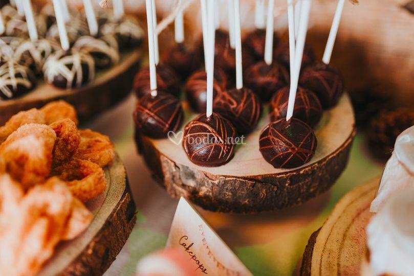 Mesa dulce rustica
