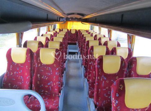 Interior autocar