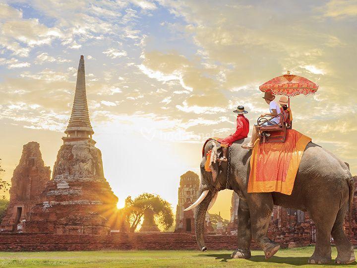 Ayyuthaya, Tailandia