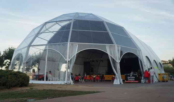 Carpa XL catedral