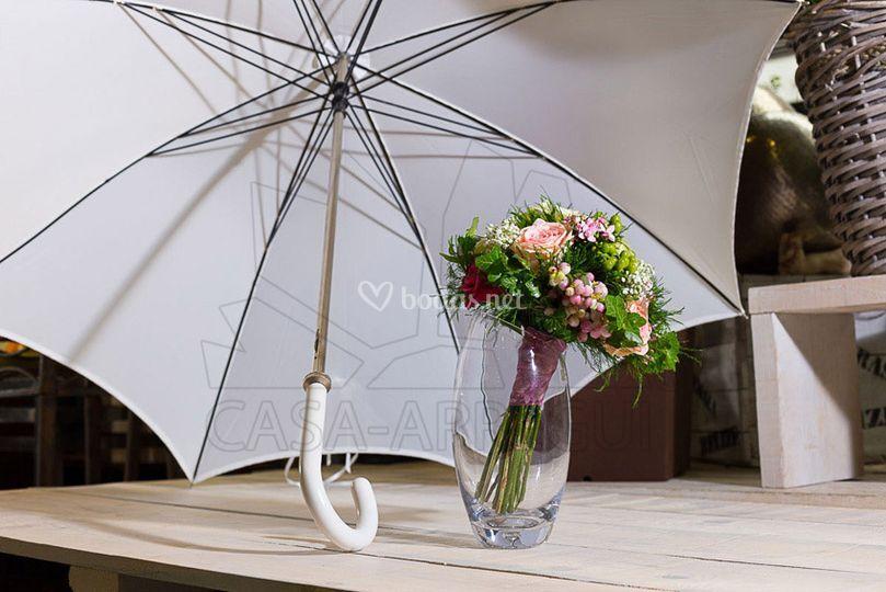 Ramo novia - paraguas