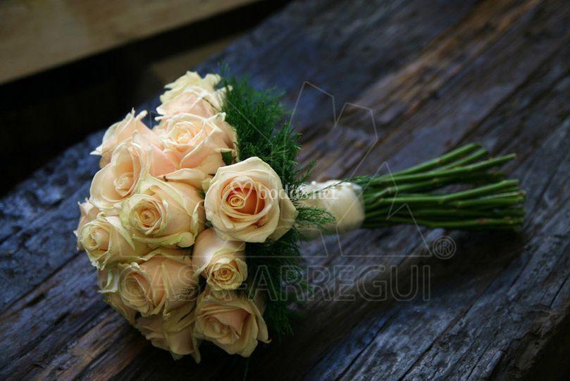 Ramo novia rosas