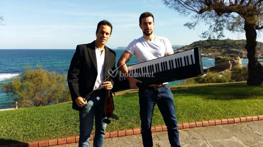 Electric violin & piano