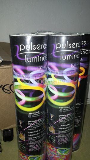 Pulseras luminosas