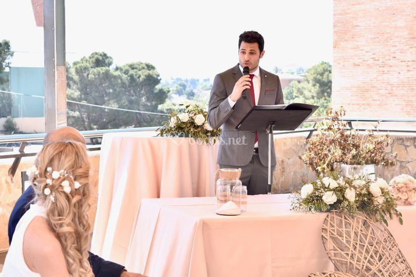 Alejandro Gómez - Maestro de Ceremonias