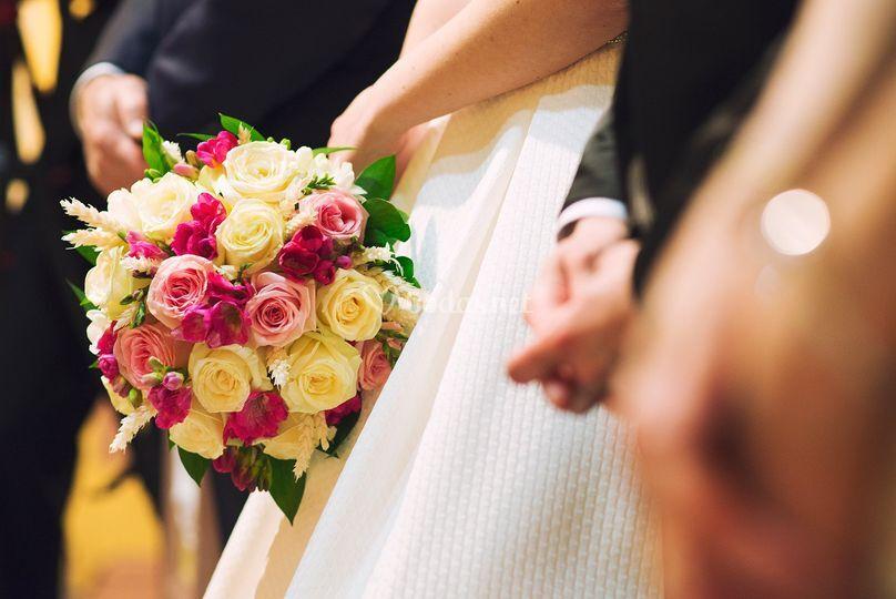 Ramo de flores - Ceremonia