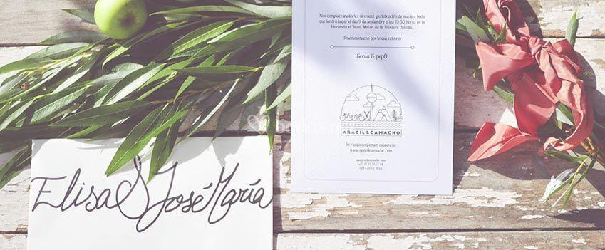 Invitaciones con logo