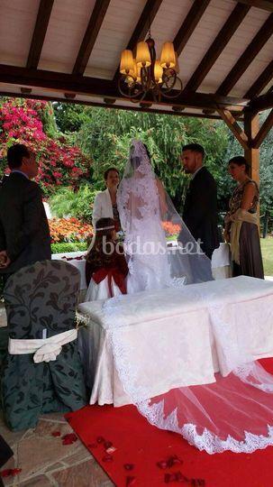 En una ceremonia