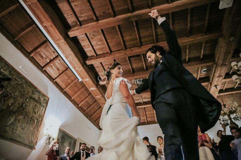 Baile (gallego) novios