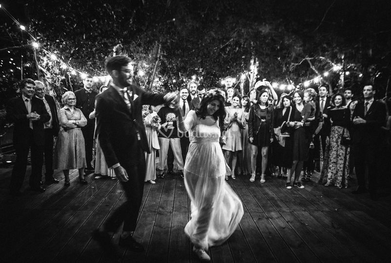 Baile novios Pazo de Sergude