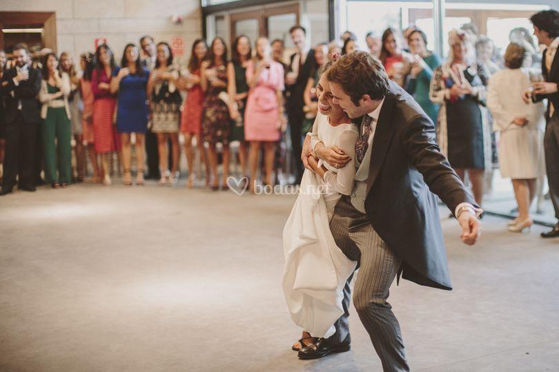 Baile novios Pazo de Cea