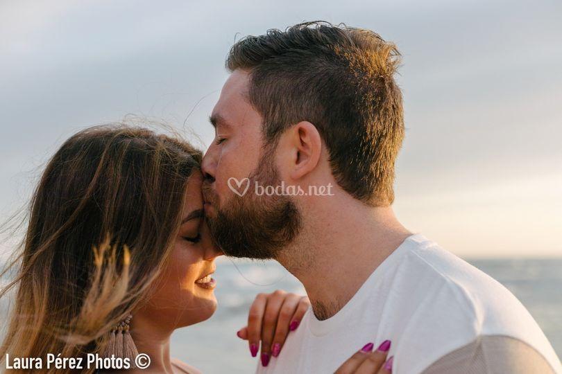 Un beso de pasión