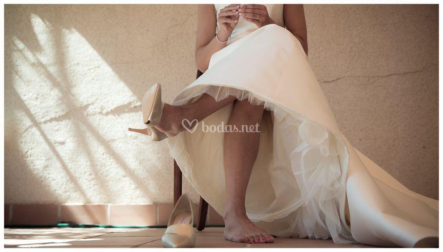 Foto original de la novia