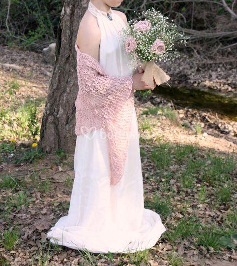 Chal y ramo novia