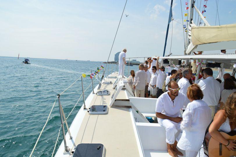 Skyline boats - Barco para eventos