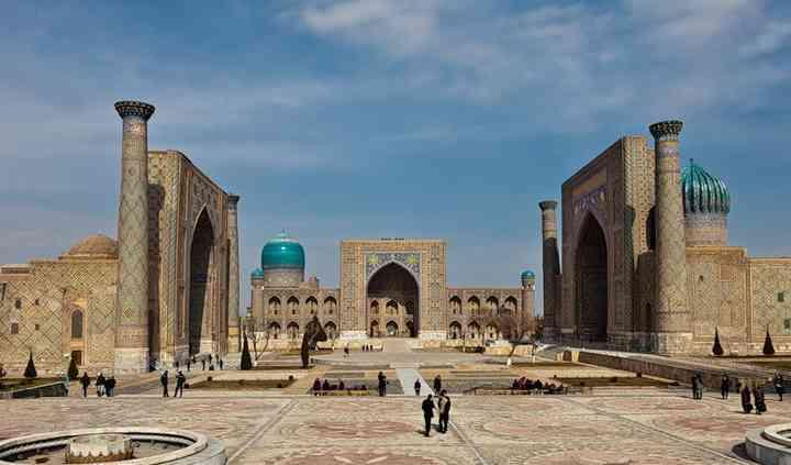 Uzbekistan, Samarkanda