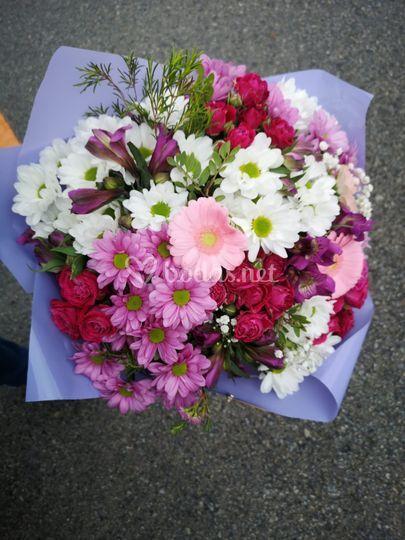 Bouquet para madre/abuela