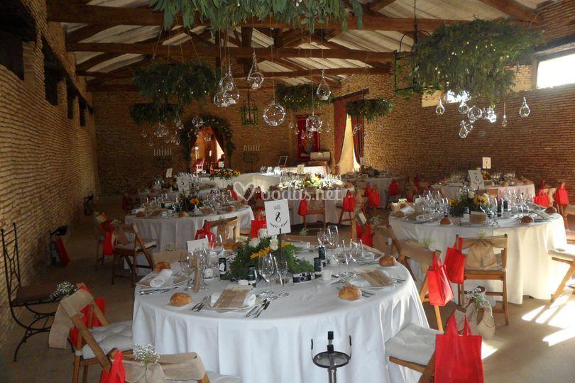 Salón medieval