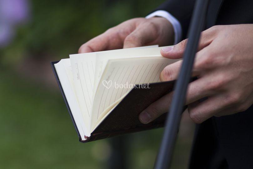 Guión de la boda
