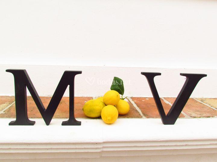 Letras de decoración
