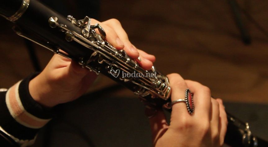 Detalle del clarinete
