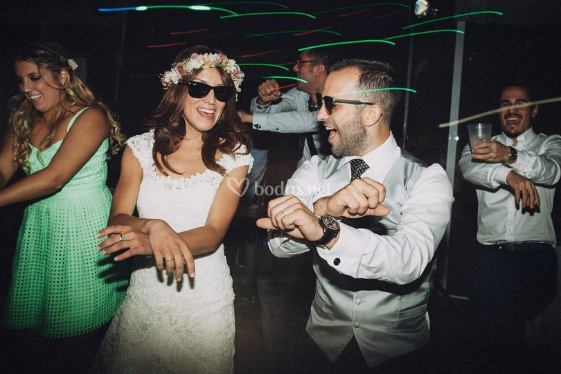 En una boda