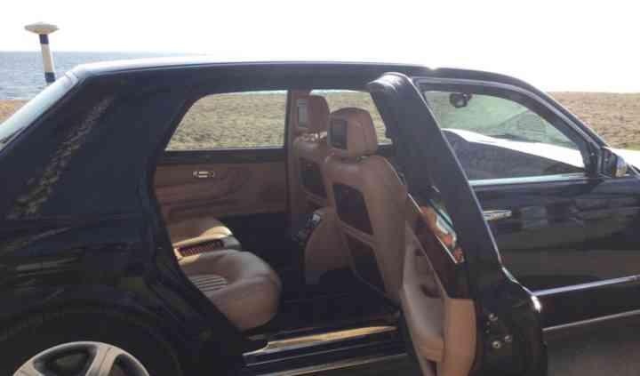 Un Bentley para un día especial