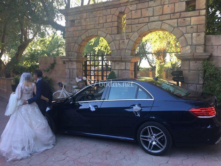 Coche para boda