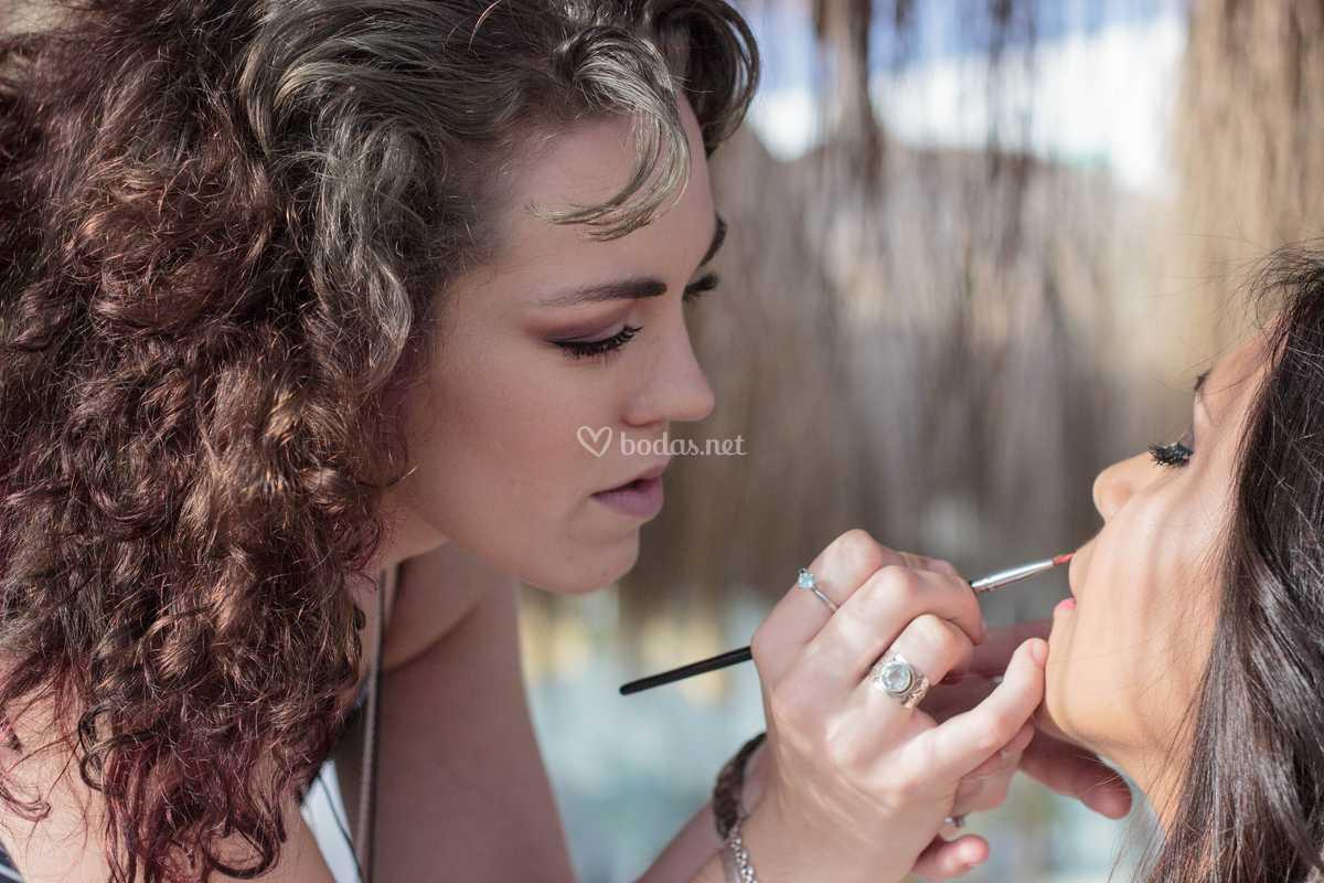Priscilla Debra Makeup