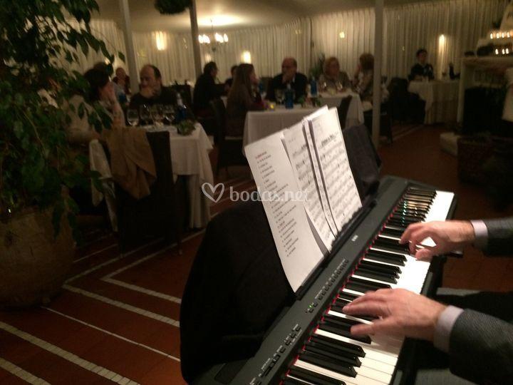 Amenización piano jazz