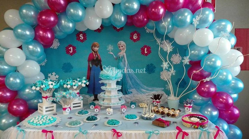 Mesa dulce Frozen
