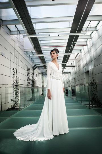 Vestido de novia Mandala